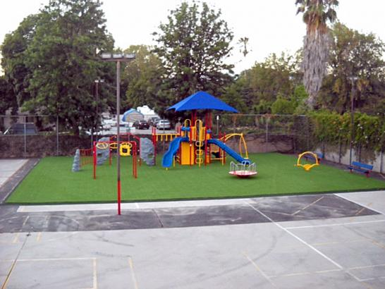 Artificial Grass Photos: Artificial Grass Bedford, Indiana Playground Turf, Commercial Landscape
