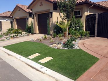 Artificial Grass Photos: Artificial Grass Carpet Oldenburg, Indiana Lawn And Landscape, Front Yard Landscaping Ideas