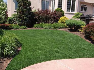 Artificial Grass Photos: Artificial Grass Installation Harmony, Indiana Landscape Rock, Front Yard Design