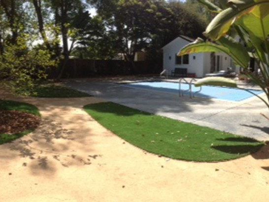 Artificial Grass Photos: Artificial Turf Cost North Vernon, Indiana City Landscape, Above Ground Swimming Pool
