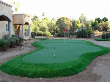 Artificial Grass Photos: Fake Turf Charlestown, Indiana Putting Green Flags, Small Backyard Ideas