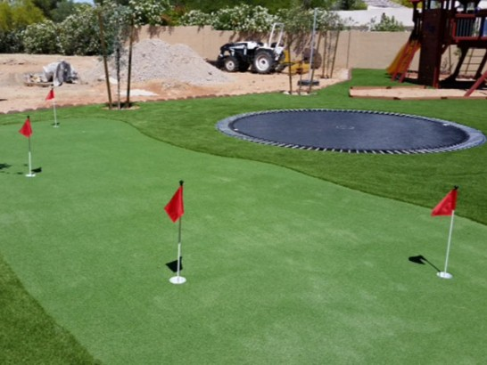 Artificial Grass Photos: Grass Installation Sweetser, Indiana Golf Green, Backyards