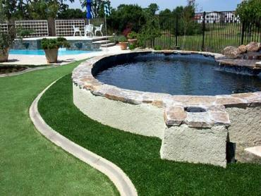 Artificial Grass Photos: Installing Artificial Grass Indianapolis, Indiana City Landscape, Backyard Pool