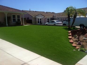 Artificial Grass Photos: Synthetic Grass Logansport, Indiana Lawn And Landscape, Front Yard Landscaping