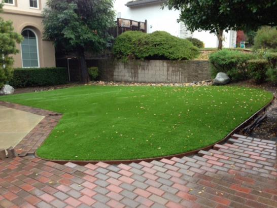 Artificial Grass Photos: Synthetic Lawn Geneva, Indiana Paver Patio, Front Yard